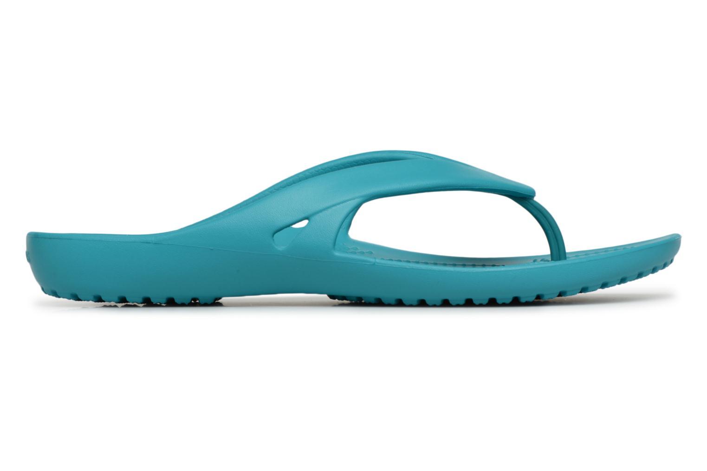 Flip flops Crocs KadeeIIFlipW Blå bild från baksidan