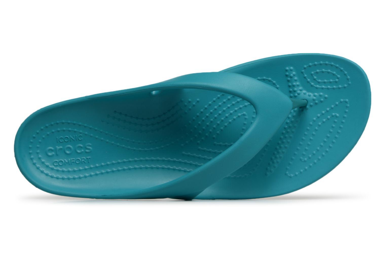Flip flops Crocs KadeeIIFlipW Blå bild från vänster sidan