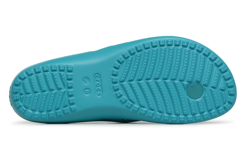 Flip flops Crocs KadeeIIFlipW Blå bild från ovan