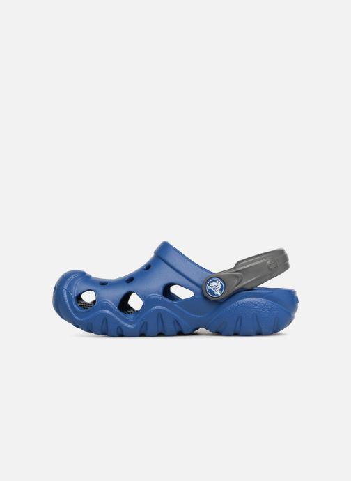Sandales et nu-pieds Crocs SwiftwaterClgK Bleu vue face