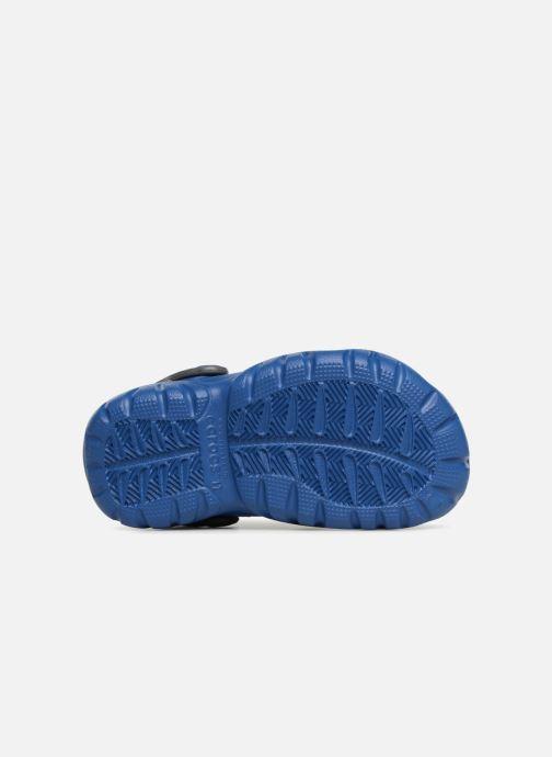 Sandales et nu-pieds Crocs SwiftwaterClgK Bleu vue haut