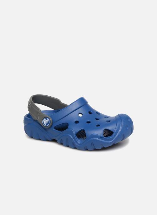 Sandales et nu-pieds Crocs SwiftwaterClgK Bleu vue détail/paire