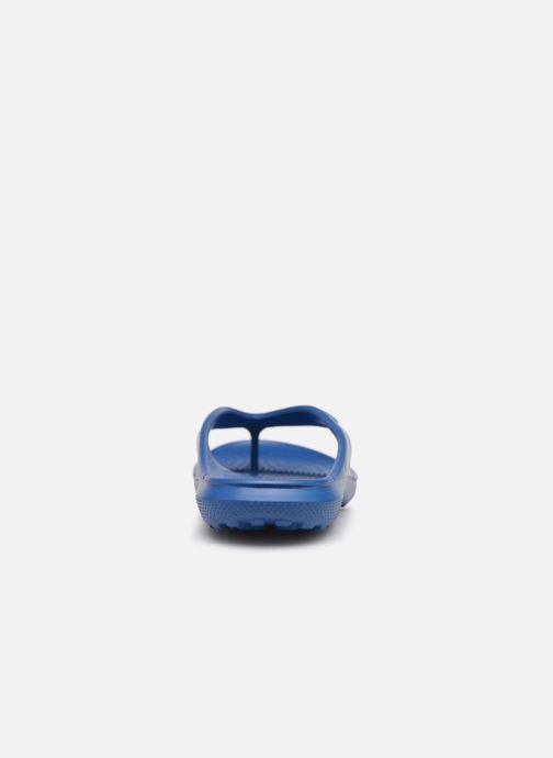 Tongs Crocs ClassicFlip Bleu vue droite