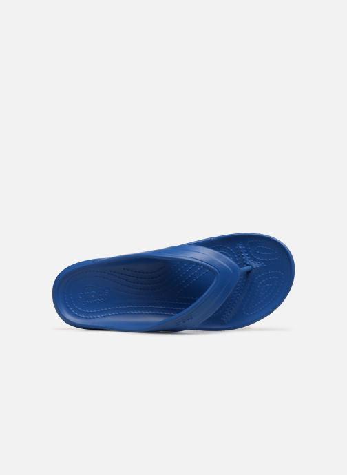 Tongs Crocs ClassicFlip Bleu vue gauche
