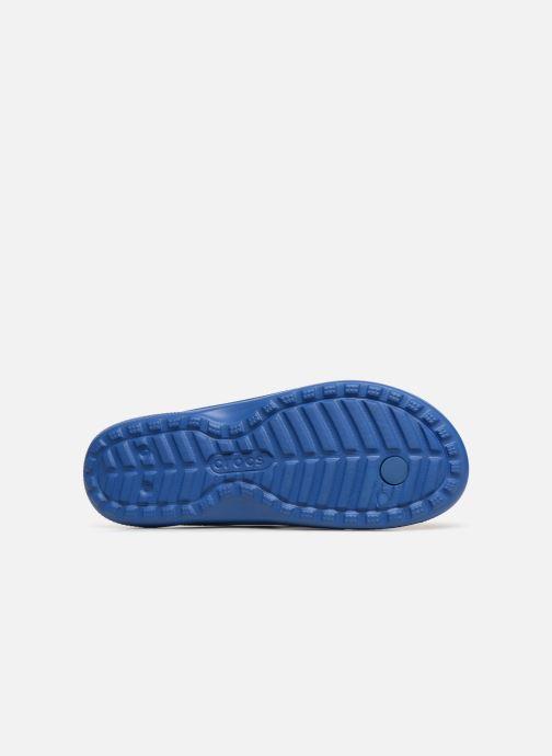 Tongs Crocs ClassicFlip Bleu vue haut