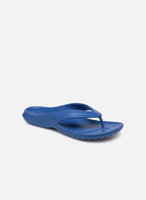 Tongs Crocs ClassicFlip Bleu vue détail/paire