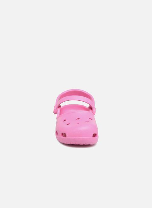 Sandales et nu-pieds Crocs KarinClogK Rose vue portées chaussures