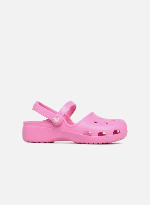 Sandales et nu-pieds Crocs KarinClogK Rose vue derrière