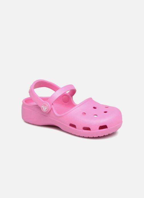 Sandales et nu-pieds Crocs KarinClogK Rose vue détail/paire