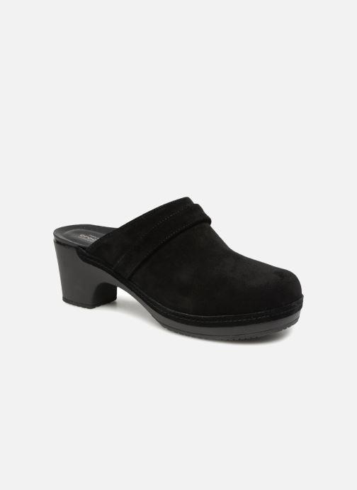 Crocs SarahSuedeClg (schwarz) - Clogs & Pantoletten bei Más cómodo