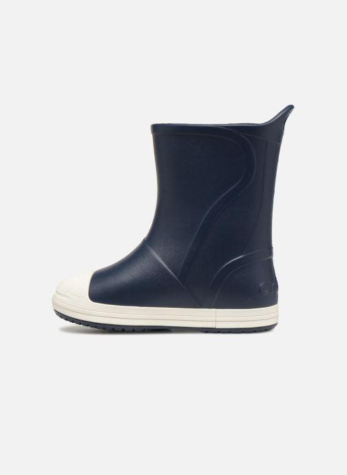 Støvler & gummistøvler Crocs Bump It Boot K Blå se forfra
