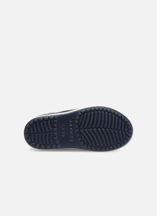 Bottes Crocs Bump It Boot K Bleu vue haut
