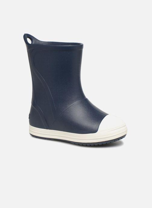 Bottes Crocs Bump It Boot K Bleu vue détail/paire