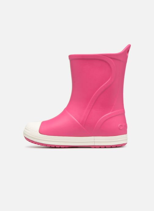 Stiefel Crocs Bump It Boot K rosa ansicht von vorne