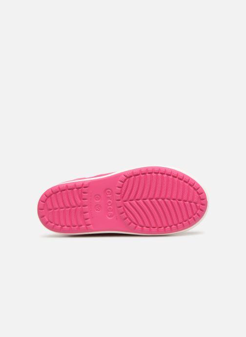 Bottes Crocs Bump It Boot K Rose vue haut