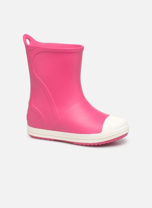 Bottes Crocs Bump It Boot K Rose vue détail/paire