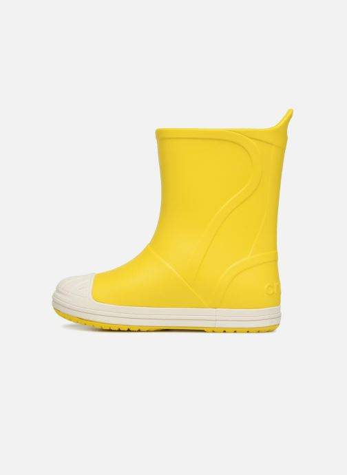 Stivali Crocs Bump It Boot K Giallo immagine frontale