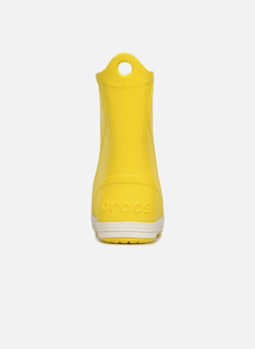 Boots & wellies Crocs Bump It Boot K Yellow view from the right
