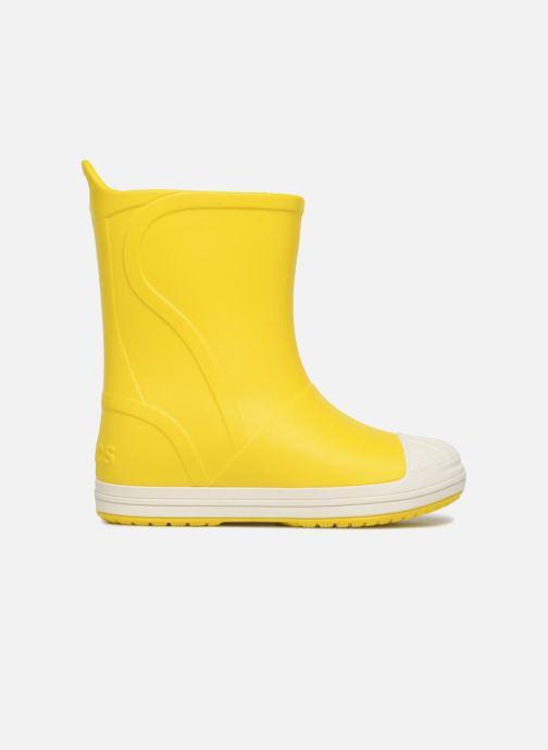 Botas Crocs Bump It Boot K Amarillo vistra trasera