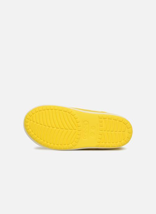 Bottes Crocs Bump It Boot K Jaune vue haut