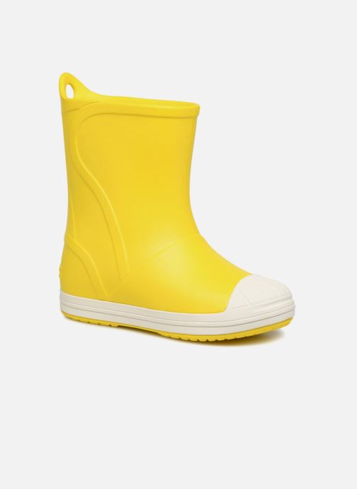 Bottes Crocs Bump It Boot K Jaune vue détail/paire