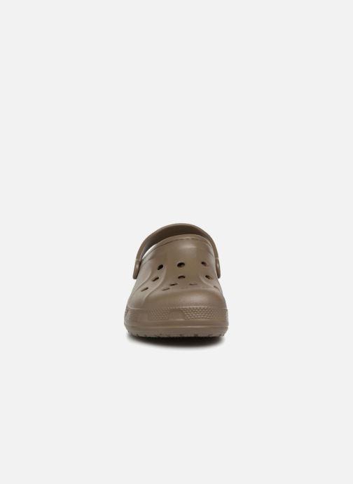 Mules et sabots Crocs CrocsWinterClg Vert vue portées chaussures