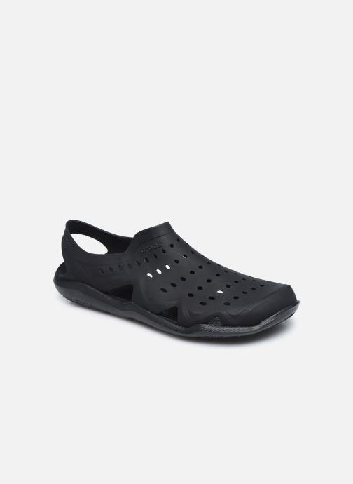 Sandalias Crocs SwftwtrWaveM Negro vista de detalle / par
