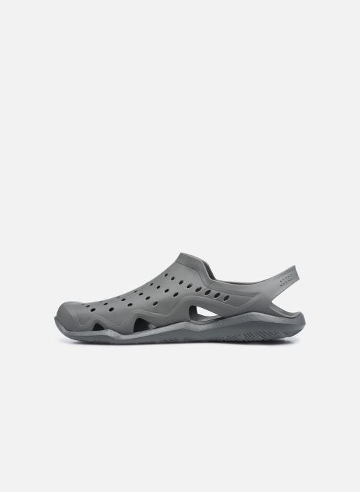 Sandales et nu-pieds Crocs SwftwtrWaveM Gris vue face