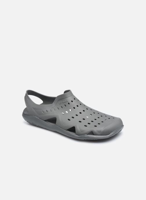 Sandales et nu-pieds Crocs SwftwtrWaveM Gris vue détail/paire