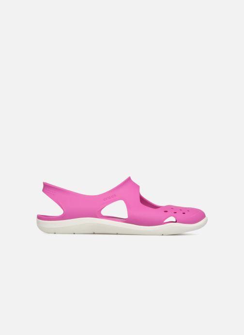 Sandales et nu-pieds Crocs Swiftwater Wave W Violet vue derrière