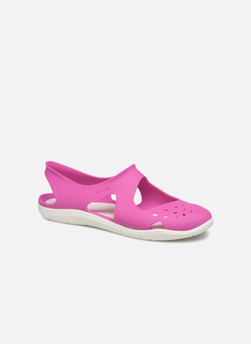 Sandales et nu-pieds Crocs Swiftwater Wave W Violet vue détail/paire