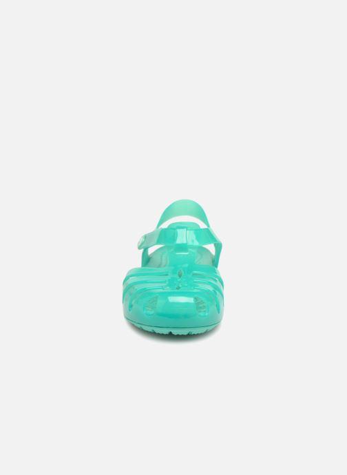 Sandales et nu-pieds Crocs Isabella Sandales PS Bleu vue portées chaussures