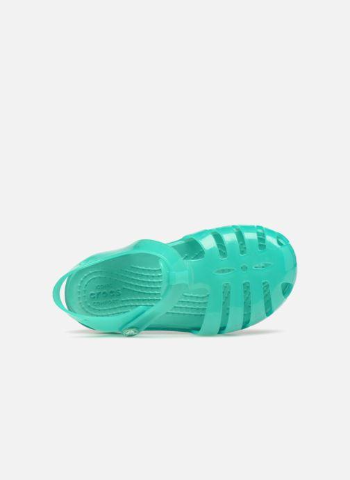Sandalen Crocs Isabella Sandales PS blau ansicht von links