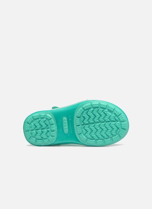 Sandales et nu-pieds Crocs Isabella Sandales PS Bleu vue haut