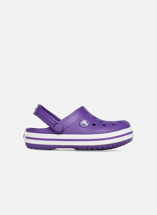 Sandales et nu-pieds Crocs Croc band Clog K Violet vue derrière