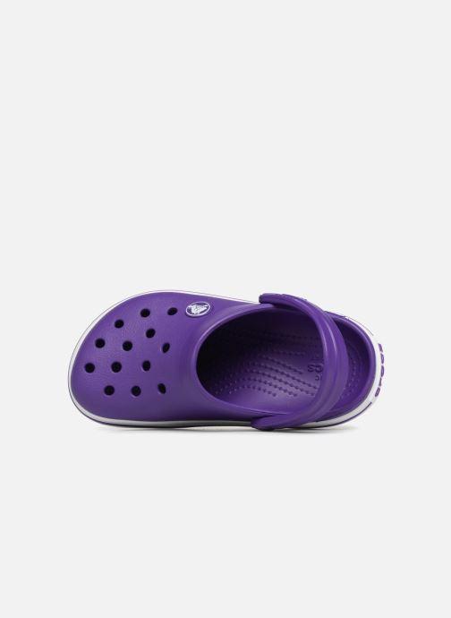 Sandalias Crocs Croc band Clog K Violeta      vista lateral izquierda