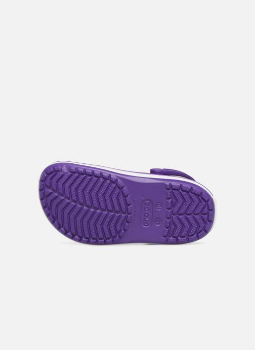 Sandales et nu-pieds Crocs Croc band Clog K Violet vue haut
