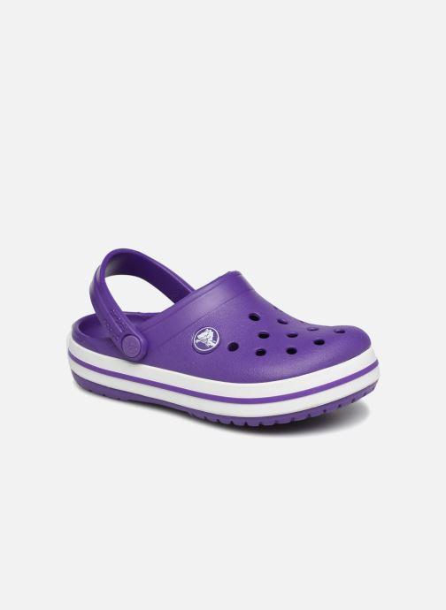 Sandales et nu-pieds Crocs Croc band Clog K Violet vue détail/paire
