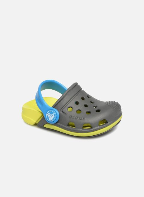 Sandals Crocs Electro3ClgK Grey detailed view/ Pair view