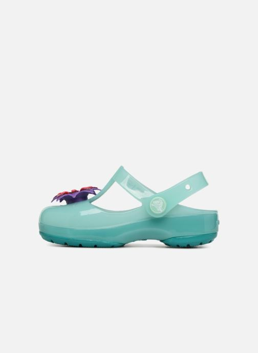 Sandalias Crocs IsabelaClogPS Azul vista de frente