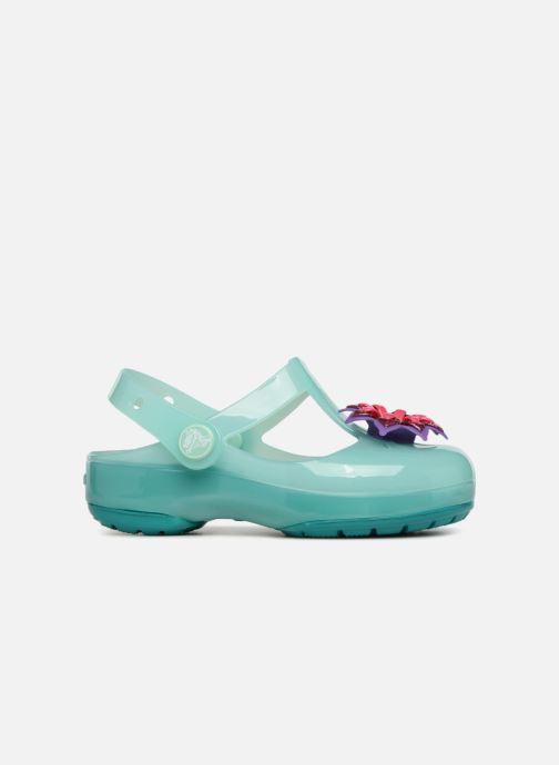 Sandales et nu-pieds Crocs IsabelaClogPS Bleu vue derrière