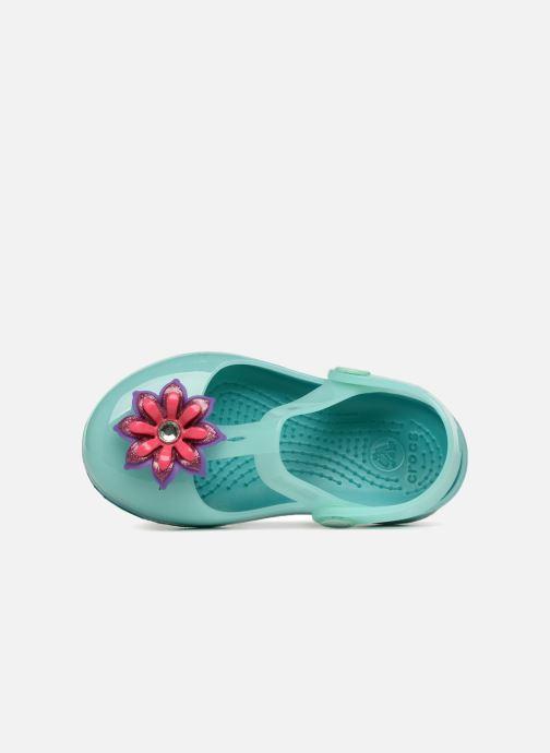 Sandales et nu-pieds Crocs IsabelaClogPS Bleu vue gauche