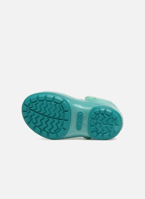 Sandales et nu-pieds Crocs IsabelaClogPS Bleu vue haut