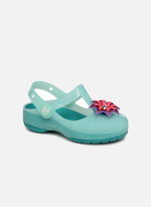 Sandalias Crocs IsabelaClogPS Azul vista de detalle / par