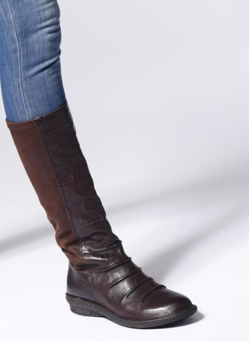 Boots & wellies Khrio Stivale Donna Brown view from underneath / model view