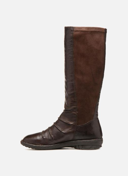 Boots & wellies Khrio Stivale Donna Brown front view