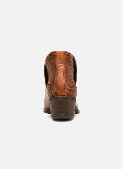 Ankle boots Khrio Polacco 2405 Brown view from the right
