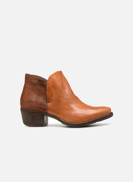Ankle boots Khrio Polacco 2405 Brown back view