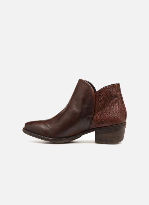 Boots en enkellaarsjes Khrio Polacco 2405 Bruin voorkant