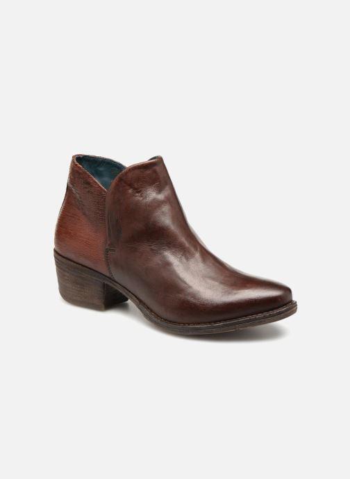 Boots en enkellaarsjes Khrio Polacco 2405 Bruin detail